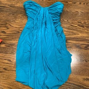 Bebe teal dress size Small.